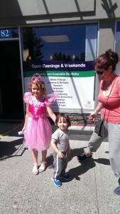 Dental North Vancouver Community Involvement Tooth Fairy Event